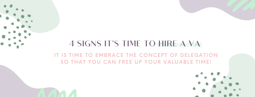 4 Signs It's Time to Hire a VA, You Can Do it All but Why Would You?